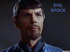 Mirror, Mirror - Evil Spock