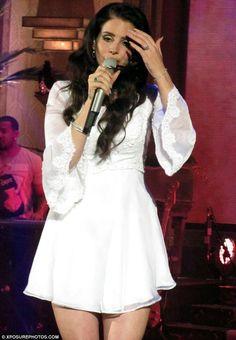 Image result for lana del rey concert dresses
