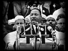 """Martin Luther King - I Have A Dream Speech - August 28, 1963-  12:39 """"I have a dream"""""""