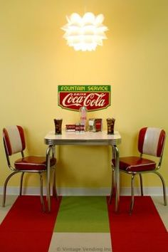 Thinking about redo-ing my kitchen this summer to be a soda fountain retro kitchen.