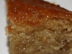 A Greek cake that tastes a little like the much more complicated Greek dessert, baklava. Posted for ZWT #6.