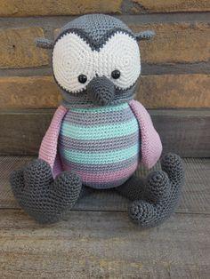 Gehaakte uil Floortje van Stip en Haak <3 crochet owl <3 made by mie
