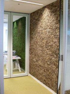 Greenwall and Cork - akoestiek fabriek