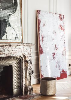 Lille Apartment Fireplace | Isabelle Stanislas Architect | Est Living