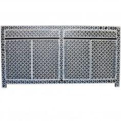 Pandora Bone inlay Black Diamond Sideboard B