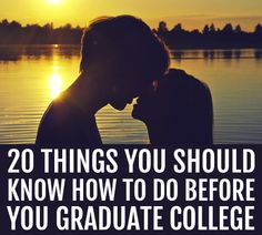 This is a very non-cheesy, 20 practical things that every girl should be doing in college and her 20s.