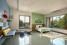 23 Ethnic Home Decor, Indian Home Decor, Kota Stone Flooring, Hall Interior Design, Indian Home Design, Indian Interiors, Bedroom Closet Design, Indian Homes, Living Room Designs