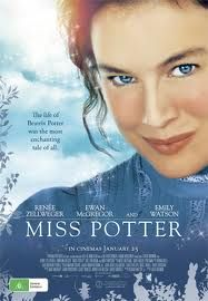 Miss Potter ~ with Renee Zellweger ~ (Movie about Beatrix Potter, author and illustrator)