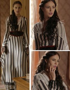 Melissa (Paolla Oliveira), Além do tempo, vestido/ figurino