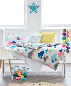 Comfy cloud bed linen - 10 Fun and Loony Kids Bed Linen | Tinyme Blog