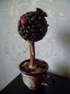 Топиарии (кофейные деревья)