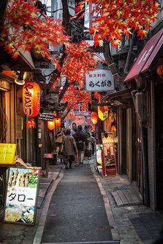 Sidestreet, Tokyo, Japan #JapanTravel