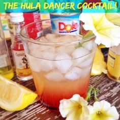 The Hula Dancer Cocktail