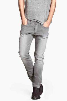 6f537c04e7 Skim grey h amp m jeans Punk Rock Fashion