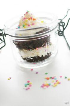 cupcake in a jar
