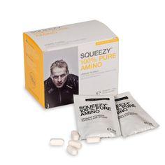 SQUEEZY 100% PURE AMINO - a 8 esszenciális aminosavval, tökéletes és gyors hasznosulással. http://www.squeezy-nutrition.hu/termek/100-pure-amino/