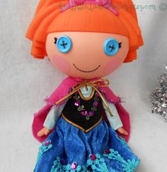 Lalaloopsy Clothes Anna's Pink Cape by AndLittleLambsEatIvy
