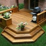 Perfect Single Level Deck Benches