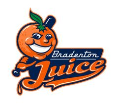 Love it...designed by FSDesign in Chattanooga, Tenn.  Juice played for 1 season in 2007 in the South Coast League, an Independent Minor League.  Waste of a great logo.
