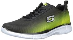 Skechers Equalizer This Way, Herren Sneakers, Schwarz (BKLM), 46 EU - http://on-line-kaufen.de/skechers/46-eu-skechers-equalizer-this-way-herren-sneakers-4