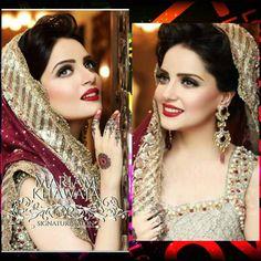 """Pakistani Celebrities on Instagram: """"#armeenakhan #latestshoot for Mariam's Bridal Soon"""""""