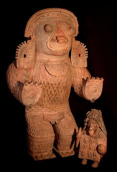 cultura Jama-Coaque,Ecuador Figurilla en terracota