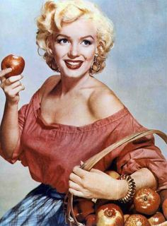 Marilyn Monroe, por Nickolas Muray, 1952
