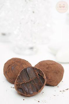 Tu medio cupcake: Trufas de Chocolate: rápidas, fáciles y muy adictivas