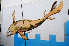 Asilah Mural by Pamplemousse Blog, via Flickr
