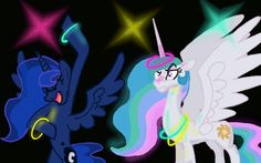Aww Yeeeaaaahhhhh! (I totally bet Luna parties hard. Nocturnals always know how to have fun. ^^ )