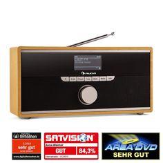 Auna Weimar DAB radio Internet Radio -Bluetooth: Click pentru imagine mărită!