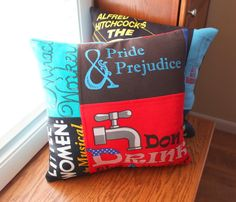 Memory Pillows from T Shirts and a Letter Jacket