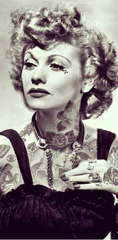 This Is What It Would Look Like If Your Favorite Celebrities Were Covered In Badass Tattoos