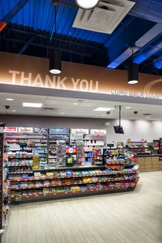 This project entailed improving the layout and customer communications, from the gas pump to the convenience store. Small Store Design, Retail Store Design, Cashier Counter Design, Mobile Shop Design, Pallet Light, Mobile Shelving, Shop Shelving, Retail Branding, Store Counter