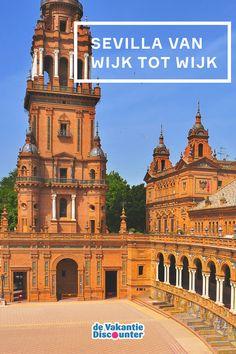 Hoe je Sevilla in een korte tijd het best kunt verkennen? Van wijk tot wijk! Zo begin je niet alleen gestructureerd aan je stedentrip in de Spaanse stad, je zal ook na elke wijk in een 'nieuwe wereld' belanden met haar eigen charme. Cordoba Spain, Cadiz, Andalusia, Malaga, Granada, Travel Inspiration, Travel Tips, Places To Visit, Wanderlust