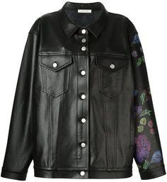 Alyx oversized leather jacket