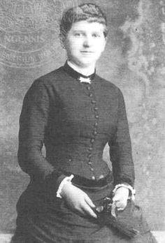 Klara Pölzl Hitler, third wife of Alois and mother of Adolf Hitler.