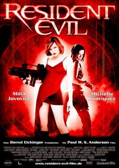 Resident Evil is one of the worst film series' of all time.  They completely missed the point.  It is sort of hard to enjoy the games, knowing that these movies exist.