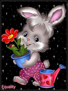 Cute Love Pictures, Clip Art Pictures, Animal Pictures, Cartoon Images, Cute Cartoon, Animation, Easter Bunny Pictures, Garfield Cartoon, Flowers Gif