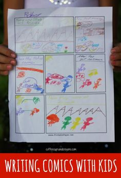 Writing comics is a great way to kids to work on both reading and writing skills. It's also a lot of fun!