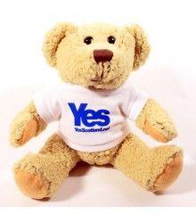 Yes Scotland Teddy Bear #yesscotland