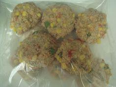 Vegan Freezer Meal, and Cookies that can freeze too!