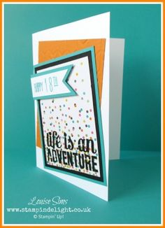 Five Minute Friday | Stampin' Delight, Louise Sims, Stampin' Up! UK Demo | Project Life, Everyday Adventure, Day to Day