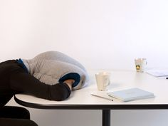 the ostrich pillow. for ultimate naps