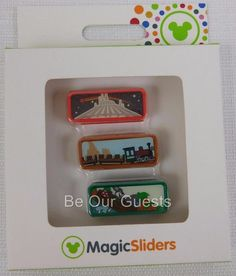 Disney Magic Kindgom Magic Band Sliders Space Big Thunder Splash Mountion New