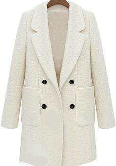 Shop Beige Lapel Long Sleeve Pockets Woolen Coat online. Sheinside offers Beige Lapel Long Sleeve Pockets Woolen Coat & more to fit your fashionable needs. Free Shipping Worldwide!