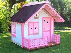 casinha de boneca de madeira para brincar