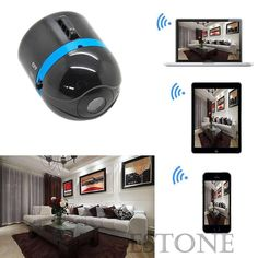 US $59.97 Mini Wifi Remote Cam IP Wireless Spy Surveillance Camera For iPhone Android