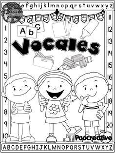 Preschool Spanish, Spanish Activities, Letter Activities, Free Preschool, Teaching Spanish, Classroom Activities, Learning Colors, Kids Learning, Preschool Education