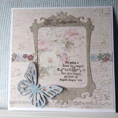 Bursdagskort I Card, Frame, Projects, Home Decor, Picture Frame, Log Projects, Blue Prints, Decoration Home, Room Decor